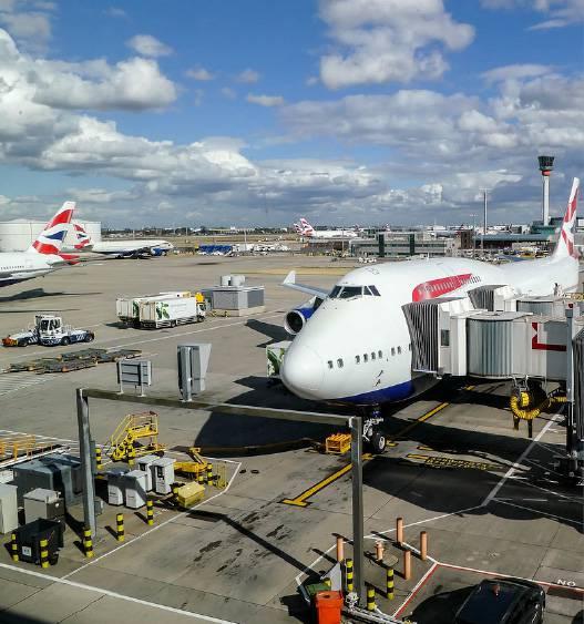 羽田空港で働く